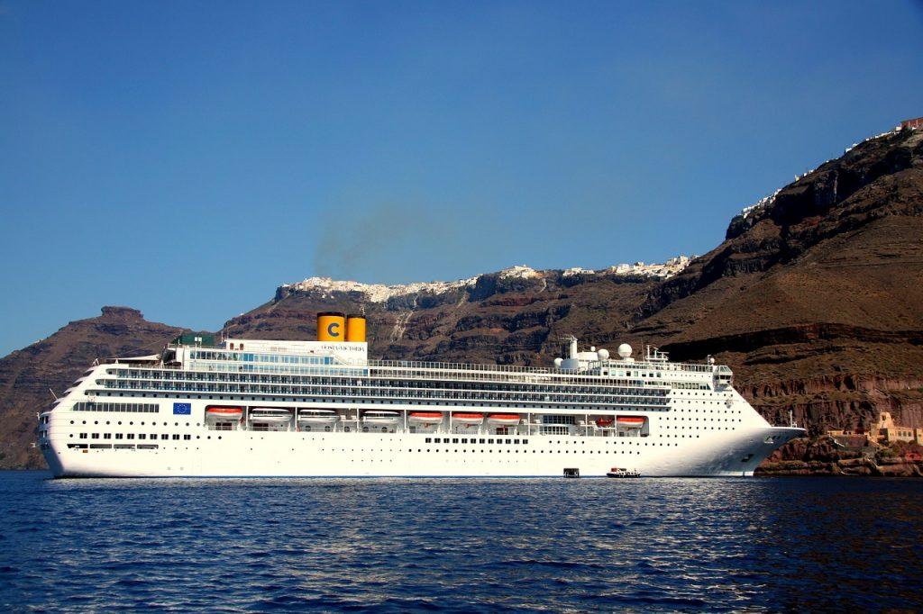 Santorini levegője nem annyira tiszta, mint gondoljuk.