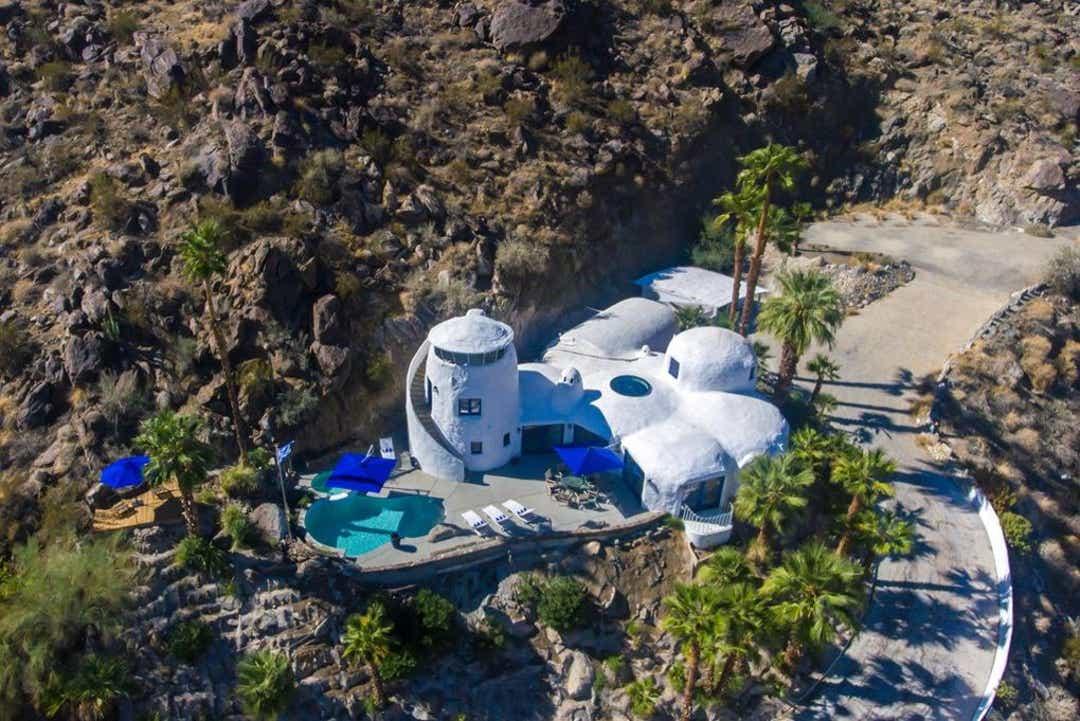 Santorini ház Palm Springsben