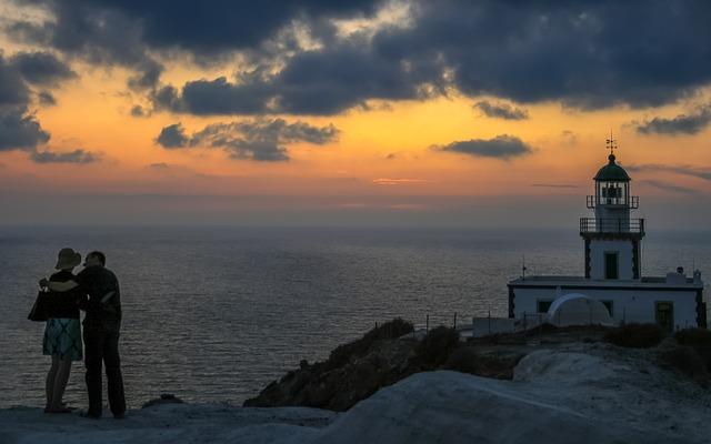 irány Santorini