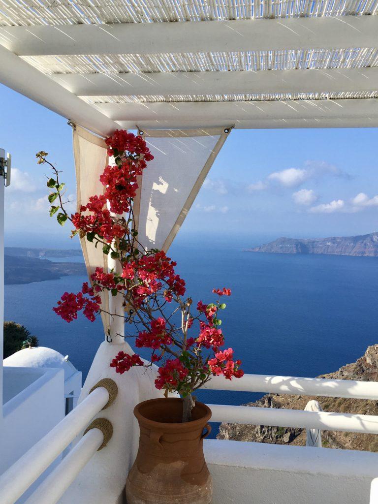 Imerovigli - Az októberi Santorini képekben