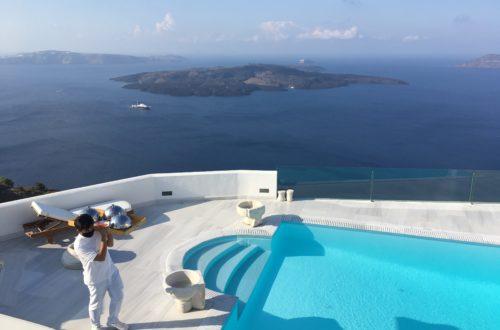 Az októberi Santorini képekbenAz októberi Santorini képekben