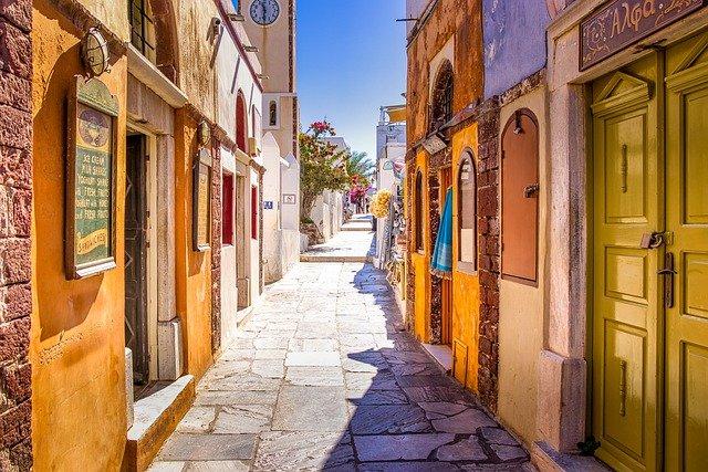 irány Santorini vagy Görögország