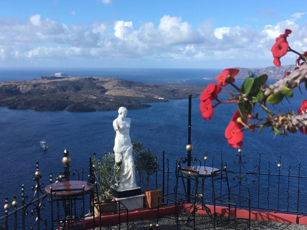 Októberi Santorini képekben