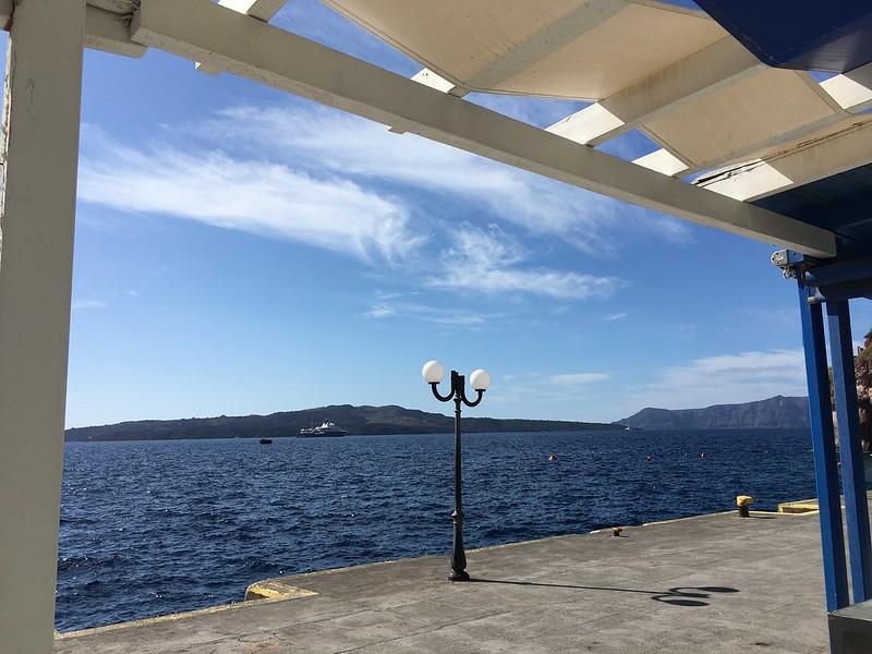 Régi kikötő a felvonó előtt