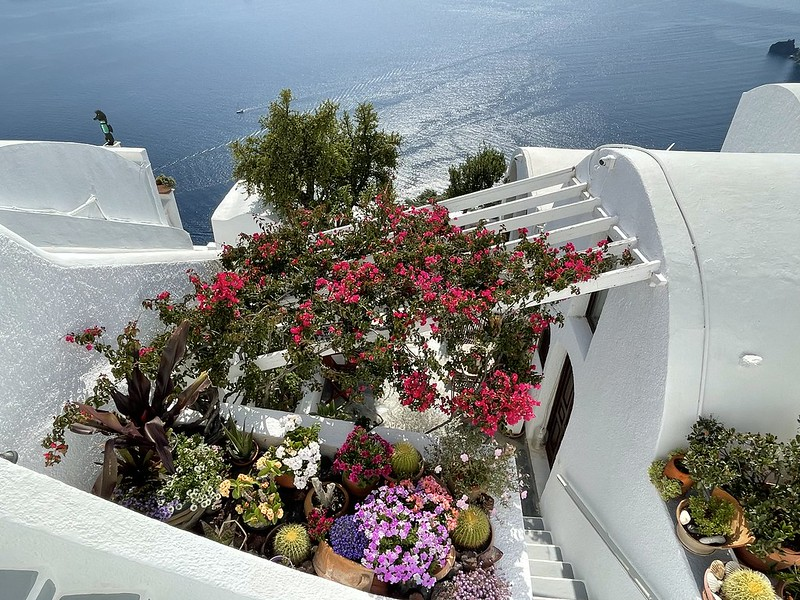 Santorini júniusban