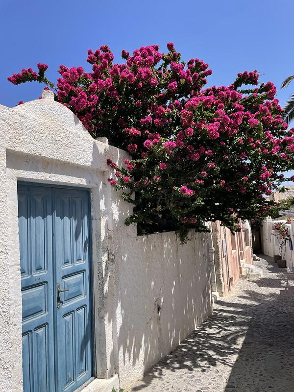 Santorini júniusban -Oia